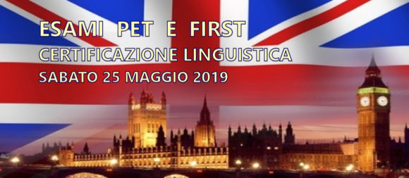 ESAMI LINGUISTICI PET E FIRST