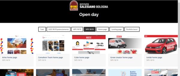 Progetti multimediali didattica salesiani Bologna