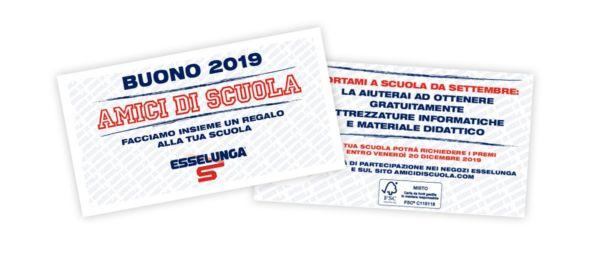 """""""AMICI DI SCUOLA 2019""""  ESSELUNGA"""