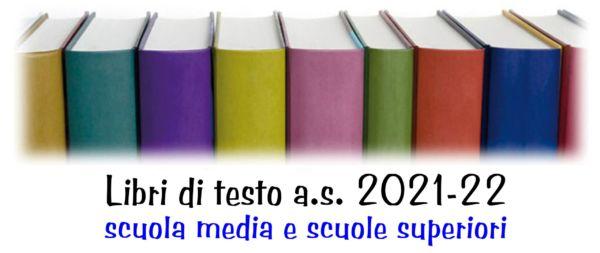 LIBRI DI TESTO – Elenchi a.s. 2021/22